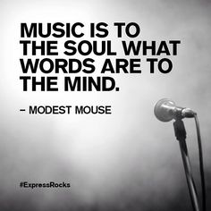 Music inspiration from Modest Mouse. #Express #ExpressRocks