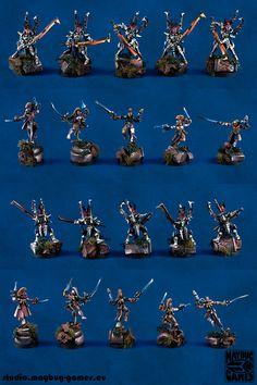 Dark Eldar Treasure Hunters Incubi Harlequins