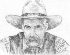 Sam Elliot | Sam Elliot Drawing