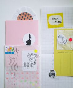 the happy mail project via Bohème Circus