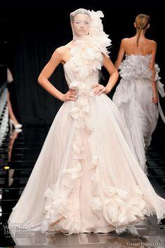 Carlo Pignatelli 2010 Opere collection - romantic wedding dress ideas