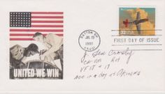 First Day Covers, One Day, Postage Stamps, Wwii, Mustang, Ted, Movie Posters, Mustangs, World War Ii