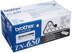 BUY NOW Brother TN-650 High Yield Toner Cartridge This high quality Brother TN-650 compatible black toner cartridge delivers first-rate quality, an incredible