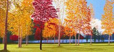 Fall Maples #Beautiful #Handmade #Silk #Embroidery #Art 77042 http://www.queensilkart.com/100-handmade-embroidery-framed-landscape-fall-maples-77042/ In Feng Shui, trees, forests and forest paths are symbolic of ancient wisdom, the ability to tap into inner resources to navigate life and become wealthy and successful. Images of trees in the home attract money and wealth. The scene provides symbols of all Five Elements of Feng Shui.