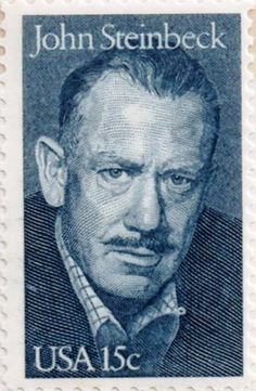 US postage stamp, 15 cents.  John Steinbeck.  Issued 1979.  Scott catalog 1773.