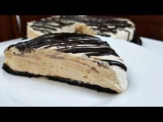 Εύκολο cheesecake με φυστικοβούτυρο!!! - YouTube Oreo Cheesecake, Greek Recipes, Cooking Recipes, Ethnic Recipes, Desserts, Youtube, Food, Tailgate Desserts, Deserts