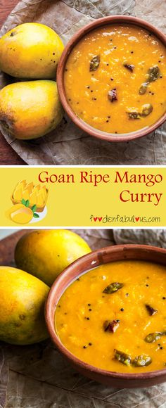 The Goan style ripe mango curry ( Ghotan Sansav) is a light summery vegetarian curry at has all the simple sweet sour and spicy flavors we love. Goan Recipes, Veg Recipes, Curry Recipes, Indian Food Recipes, Vegetarian Recipes, Cooking Recipes, Recipies, Mango Curry, Veg Curry