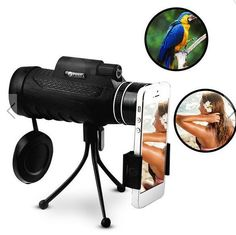 Monocular Clear Night Vision Optic Lens Telescope With Tripod Outdoor Travel #PANDA