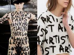 INSPIRATION Louis Vuitton SS--2014… Zara SS--2014