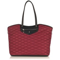 Love the colour & quilting on this KNOMO Great Portland Zip Shoulder Tote @knomo #FAVEKNOMO