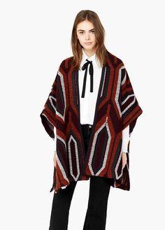 Capa lana alpaca | MANGO
