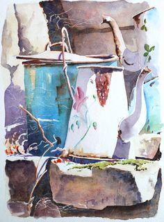 Aquarelles | Joël SIMON