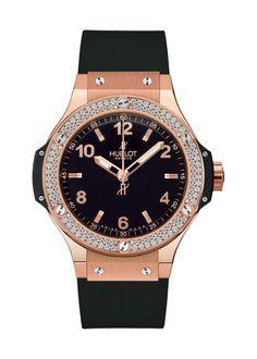 Big Bang Gold Diamonds 38mm Quartz watch from Hublot