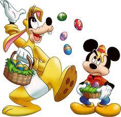 image mickey et dingo