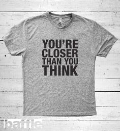 Baffle Tees / You're closer than you think Men's by BaffleTeesShop