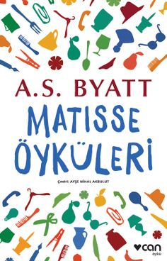 A. S. Byatt, Matisse Stories book cover design.