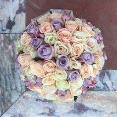 Soothing pastel flowers for the soul  #floratheory#flowerbox#roses#pastel#luxury#newyork