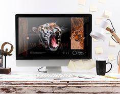 Wild Kingdom - Corporate Identity - Branding - UI/UX Identity Branding, Corporate Identity, Adobe Indesign, Photoshop, Ui Ux, New Work, Behance, Gallery, Mockup