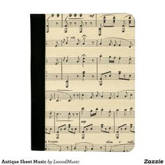 Antique Sheet Music
