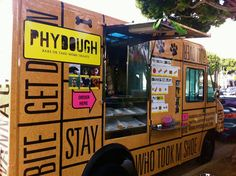 Phydough Food Truck for Dogs (LA) -- they totally need our treats. I know that LA dogs would love them some all-natural, probiotic bacon frozen yogurt specially designed for them.