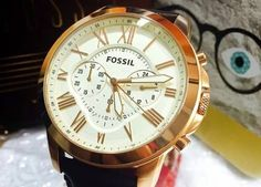 Chronograph, Fossil, Cool Stuff, Accessories, Cool Things, Fossils