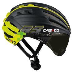 Casque CASCO SPEEDairo RS noir vert fluo