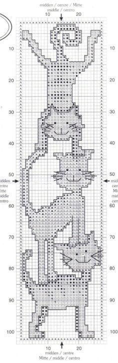 cross stitch cat - (1) Gallery.ru / Foto # 1-131,5430 - credenza