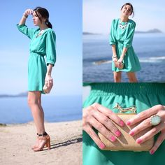 Worldwide giveaway on my blog: win this mint dress (by Alexandra Per) http://lookbook.nu/look/3241655-Worldwide-giveaway-on-my-blog-win-this-mint-dress