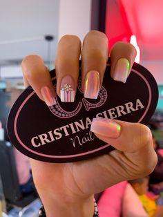 𝒞𝑅𝐼𝒮𝒯𝐼𝒩𝒜 𝒮𝐼𝐸𝑅𝑅𝒜 𝒩𝒜𝐼𝐿 𝒮𝒫𝒜♛ Sedes disponibles 💗 🅛🅐🅤🅡🅔🅛🅔🅢📲3005269612 ☎️ 2501027 🅜🅔🅖🅐🅒🅔🅝🅣🅡🅞📲 3227639001 ☎️ 4799956 #nails #nailart #acrilicnails #nailsofinstagram #nailart Mani Pedi, Manicure And Pedicure, Magic Nails, French Nail Art, Nail Set, Nail Polish Colors, Nails On Fleek, Short Nails, Nails Inspiration