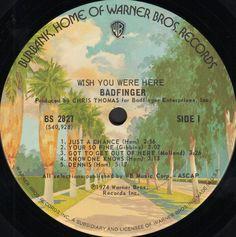 Badfinger - Wish You Were Here - Album print