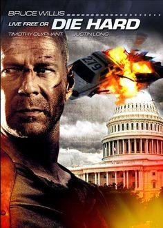 DIE HARD 4 LIVE FREE OR DIE HARD:   Bruce Willis, Justin Long, Timothy Olyphant - 2007