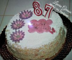 Diplomatica cake for my 87th's grandmother birthday ...