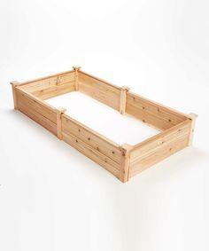 American Red Cedar Raised Garden Bed