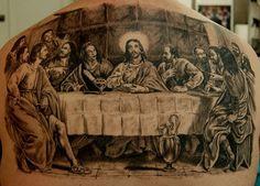 Last Supper Tattoo #17