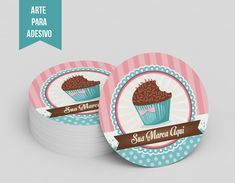 Identidade Visual Brigaderia disponivel para venda Bakery Business Cards, Cake Business, Logo Doce, Baking Logo, Cake Logo Design, Mickey Mouse Art, Creative Desserts, Sweet Bakery, Pink Wallpaper Iphone