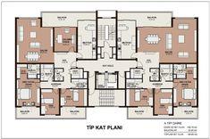 48 trendy home design plans Plans Architecture, Architecture Design, Drawing House Plans, Flat Plan, Interior Design Layout, Villa Plan, Apartment Floor Plans, Home Design Plans, Trendy Home