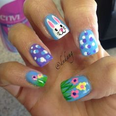 """If you are attractive for attach art account in band with the occasion, For sure, your Easter Day anniversary would be abounding with lots of fun abounding activities with your ancestors and friends. Aside from what dress you would abrasion or what affectionate of architecture you should have, you should additionally pay absorption to your … Continue reading """"Best Easter Nail Art Ideas 2017"""""""