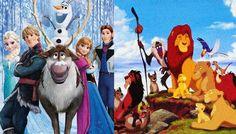 """Provas finais de que """"Frozen"""" é uma cópia de """"O Rei Leão"""""""