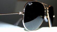 Ray Ban aviator sunglasses.