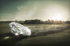 Diamond in the rough on Behance