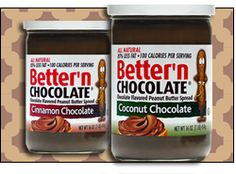 Guilt-free #chocolate-y products. #YUM!