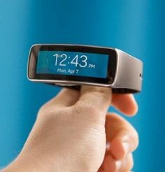 The Samsung Gear Fit.
