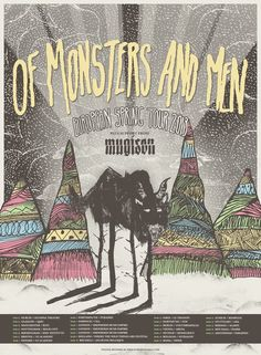 Of monsters and men lyric poster - Google Search