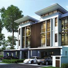 Fera « Distinguished Luxury Waterfront Twin Villa « Putrajaya Holdings