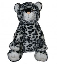 "Singing 16"" plush Snow Leopard which plays custom music featuring your child's name."