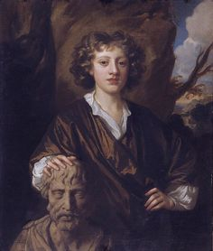 Sir Peter Lely - portrait of the young Bartholomew Beale (1656-1709), son of the artist Mary Beale