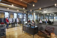 Chicago's Industrious plans designer co-working space in Midtown Atlanta (SLIDESHOW) - Atlanta Business Chronicle Coworking Space, Glass Office, Granite Colors, Workspace Design, Co Working, Common Area, Store Design, Square Feet, Interior Inspiration