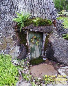 Faerie Door by Mythicaldesigns.com | fairiehollow.com