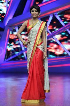 Shilpa Shetty clicked on the sets of Nach Baliye | PINKVILLA