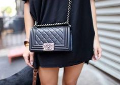 Would you pair this amazing #Chanel bag with a pair of #Lukluks ?! #luxuryfashion #style #ootd #outfitpost